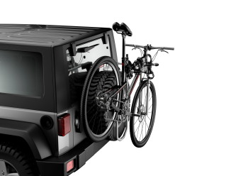 THULE 963PR0 2 BIKE SPARE TIRE MOUNTED RACK