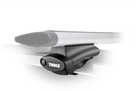 Converts existing factory rack with raised side rails into full-featured Thule rack system.