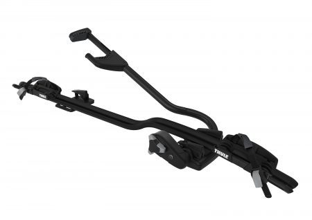 Upright bike carrier for the quickest, most convenient mounting – for bikes up to 20 kg.