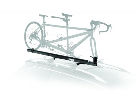 The quickest and easiest tandem and recumbent bike carrier on the market. This unique design requires only one person to load/unload the bike.