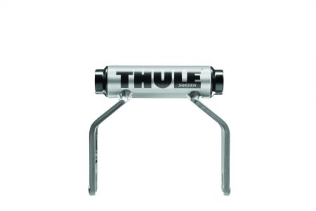 Patented adapter design allows you to carry 15mm front suspension forks on existing Thule and most other fork-mounted bike carriers.